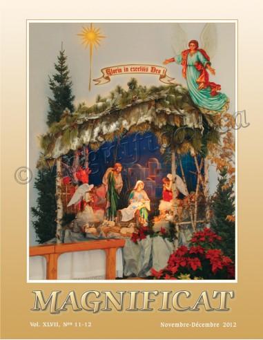 Magnificat Novembre-Décembre 2012